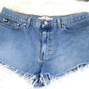 Vintage Tommy Hilfigure high rise shorts sz 10